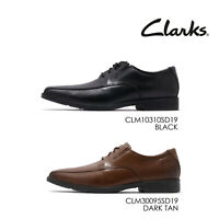 Clarks Tilden Walk Leather Men Casual Lace Up Oxford Derby Dress Shoes Pick 1
