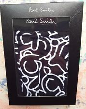 "Paul Smith Mens Underwear Trunk Rabbit Print Black & White Size XL UK 36-38"" NEW"