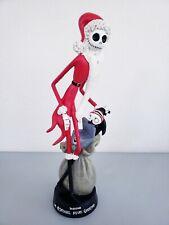 """Kcare The Nightmare Before Christmas Santa Jack Skellington 12"""" Statue Figurine"""