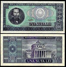 free shipping 10 zece lei Socialist Romania third leu banknote year 1966
