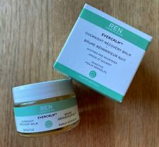 NEW Boxed REN Evercalm Overnight Recovery Balm Soothes Nourishes 30ml