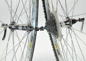 "MAVIC 236 SHIMANO STX MC32 11/28 T INTERACTIVE 7 SPEED BICYCLE 26"" WHEELS 135 MM"