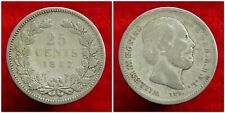 Netherlands - 25 Cent 1887