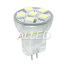 12V MR8 LED Replacement Bulb Cool White Cabinet Dome Light Down Lamp Caravan RV