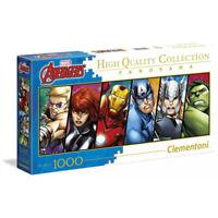 Clementoni Disney Puzzle The Avengers Panorama (1000 Pezzi)