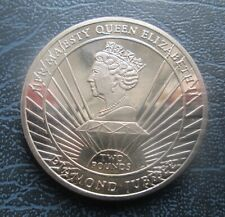 2012 South Georgia & Sandwich Islands £2 Two Pounds UNC