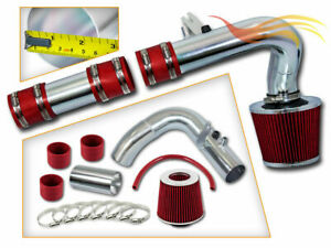 """2.5"""" RED Cold Air Intake Induction Kit + Filter For 00-05 Neon 2.0L L4"""