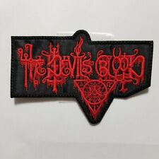 The Devils Blood  EMBROIDERED  PATCH
