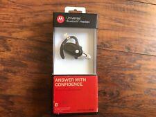 Motorola H720 Black Ear-Hook Bluetooth Headset w/ Box and Manual New Nib