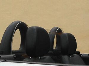 Mercedes SLK R170 Wind Deflector Stop  Full Perspex,no drilling,no straps
