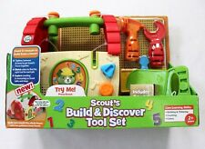 Leap Frog Scout's Build & Discover Tool Set Talks & Sings