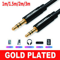 1m/1.5m/2m/3m Vention 3.5mm Male to 2.5mm Male Aux Cable for Car Phone Speaker