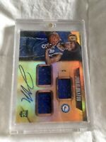 JAHLIL OKAFOR 2015 GOLD STANDARD ROOKIE CARD AUTO TRIPLE JERSEY RC CARD /99!