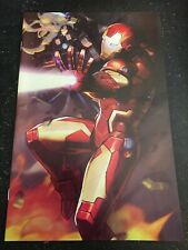 "Tony Stark:Iron Man#12 Incredible Condition 9.4(2018)""Battle Lines Variant"""