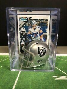 Las Vegas Raiders NFL Helmet Shadowbox w/ Jason Witten card