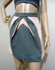 DION LEE for CUE size 10 75% wool & cashmere a-line SKIRT near new condition