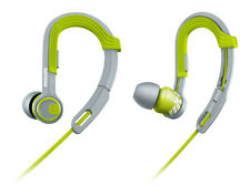 NEW Philips ActionFit SHQ3300LF Ear-hook Headphones Green/grey Brand New
