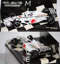 Minichamps F1 Bar Honda 03 O. Panis 2001 1/43 400010009
