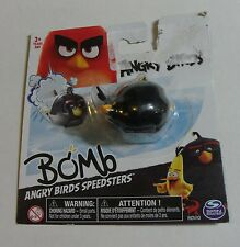 ANGRY BIRDS BOMB BIRD Rovio Angry Bird SPEEDSTERS FIGURE Bird Car BRAND NEW