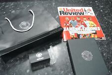 Manchester United Official Shop Merchandise CUFFLINKS & Notebook Vs Swansea 2013