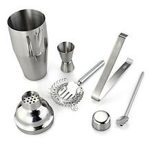 5pcs/Set 750ml Stainless Steel Cocktail Shaker Mixer Bartender Martini Tools Bar