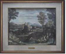 Seicento italiano paesaggio Annibale Carracci della Accademia degli Incamminati