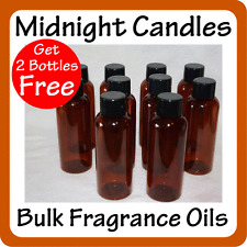 Candle Making BULK FRAGRANCE OILS LARGE 8 of 100ml Bottles with 2 more FREE