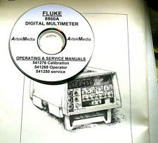 FLUKE 8860A DMM, Operating GPIB Calibration & Service MANUALS 4 VolUMES COMPLETE