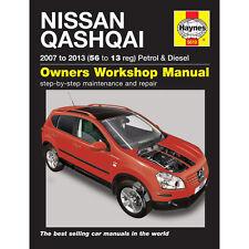 NISSAN Qashqai 1.6 2.0 essence 1.5 2.0 Diesel 2007-2013 Haynes manuel