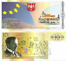 @@@ Poland 10 Eurokcyn 2009 1st EVER Polish Local Currency Bond in Folder UNC @@