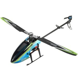 E160 6CH Brushless 3D6G System Flybarless RC Helicopter BNF RTF Compatible
