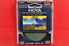 Hoya 67mm circular polarising filter - slim frame *UK Seller*