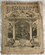 Demorest's Illustrated September 1870  Mirror of Fashions