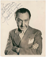 FRANKLIN PANGBORN - INSCRIBED PHOTOGRAPH SIGNED TWICE