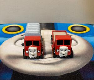 LORRY 2 & LORRY 3 Diecast Metal 2001 ERTL Thomas & Friends Railway Trucks Used