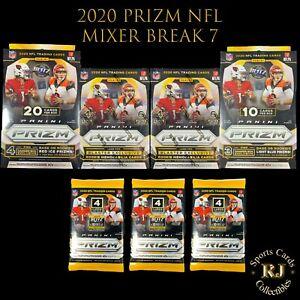 Pittsburgh Steelers -2020 PRIZM NFL Football Mixer Break #7 Blaster,Hanger