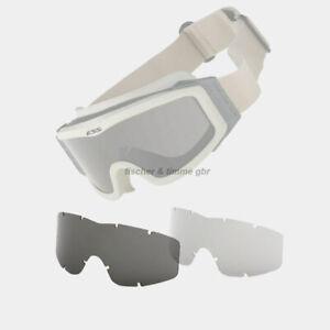 2 Ersatzgläser ESS NVG Schutzbrille Sicherheitsbrille Soft Air neu US  Army