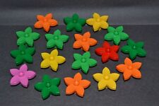 lot of 18 assorted color Duplo flowers - combined shipping