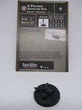 AXIS & ALLIES MINIATURES - (UK) 6pdr AT gun