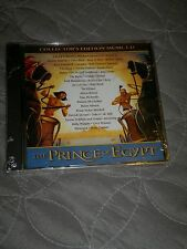 COLLECTORs EDITION  THE PRINCE OF EYGPT MUSIC CD  VARIOUS ARTIST