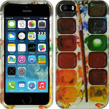 For iPhone 5 5S SE HARD Protector Case Snap On Phone Cover Color Plate Accessory