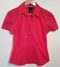 George Stretch Button Down career blouse womens size s (4/6)