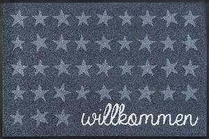Fußmatte wash+dry Willkommen Sterne ca.50x75cm waschbar Matte