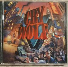 CD, Cry Wolf, Album: Crunch, gut erhalten!