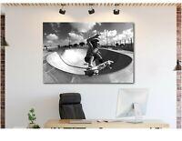 Dogtown and Z Boys Skateboard inspired - Canvas Wall Art Print FRAMED