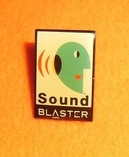 SOUND BLASTER audio sound cards pci vintage computing pin badge extra rare