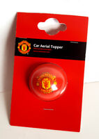 MANCHESTER UNITED FC OFFICIAL CAR AERIAL TOPPER GIFT RED