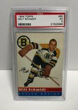 1954 Topps MILT SCHMIDT card #60  PSA 5 EX