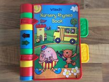 Vtech Nursery Rhymes Book Electric Sounds Music Songs Lights Reading Children's