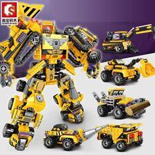 Transformers Devastator 6 In 1 Action Figure Engineering Truck Robot Toy Sets